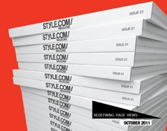 Style.com in print
